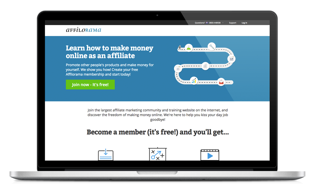 Affilorama learn how to make money as an affiliate