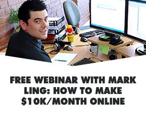 Free Webinar $10K per Month Banner