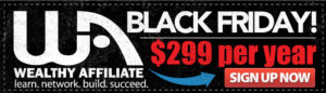 Wealthy Affiliate's Black Friday Sale - VIDEO
